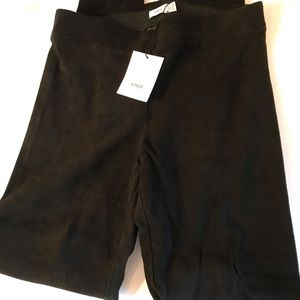 Vince Biack Suede Jeans NWT